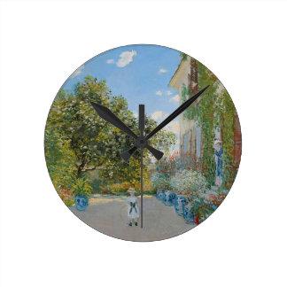 Horloge Ronde Claude Monet - la Chambre d'artistes à Argenteuil