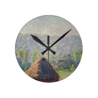 Horloge Ronde Claude Monet | la fin de l'été, chez Givern