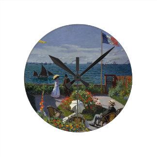 Horloge Ronde Claude Monet - le jardin à l'art de Sainte Adresse