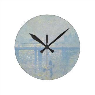 Horloge Ronde Claude Monet - pont croisé de Charing. Art