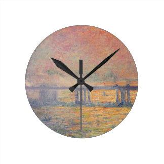 Horloge Ronde Claude Monet - Saint Louis de pont croisé de