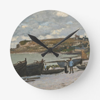 Horloge Ronde Claude Monet | Sainte-Adresse, 1867