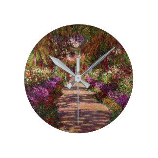 Horloge Ronde Claude Monet | une voie dans le jardin de Monet
