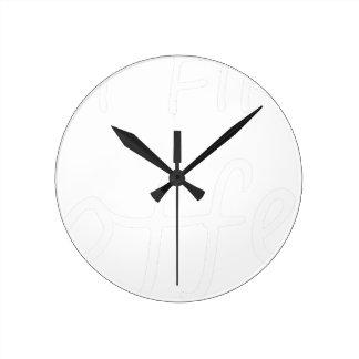Horloge Ronde coffee13