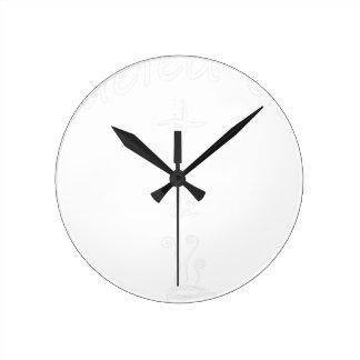 Horloge Ronde coffee17