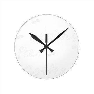 Horloge Ronde coffee19