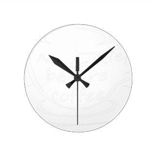 Horloge Ronde coffee23