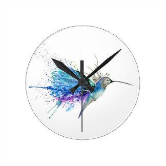 Horloge Ronde Colibri