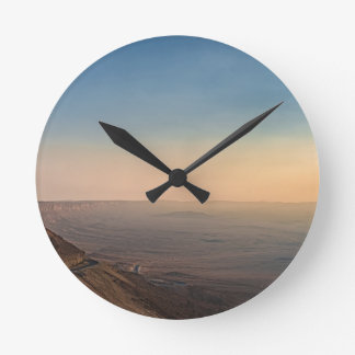 Horloge Ronde Cratère de Mizpe Ramon, Israël