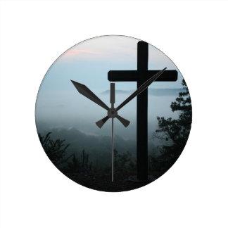 Horloge Ronde croix