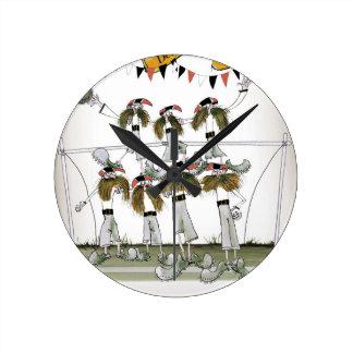 Horloge Ronde défenseurs allemands vintages