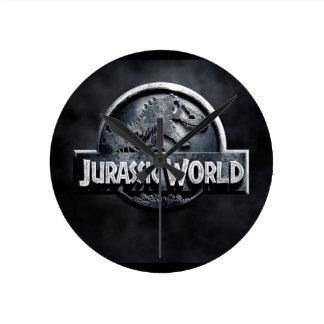 Horloge Ronde Dinosuarios
