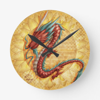 Horloge Ronde Dragon