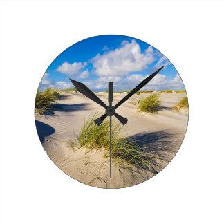 Horloge Ronde Dunes sur l'île Amrum de la Mer du Nord