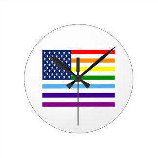 Horloge Ronde Égalité américaine