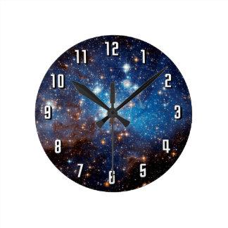 Horloge Ronde Étoile de la main gauche 95 formant la région -