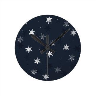 Horloge Ronde Étoile emboutie