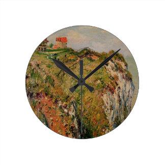Horloge Ronde Falaise de Claude Monet | chez Dieppe, 1882