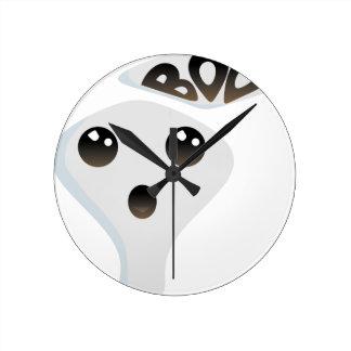 Horloge Ronde Fantôme mignon