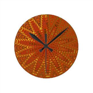Horloge Ronde Fils d'or de soie : GI d'ORIENTAL riche de style