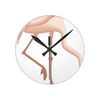 Horloge Ronde flamant #11