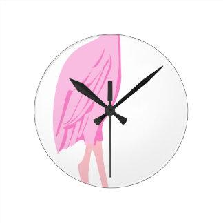 Horloge Ronde flamant #12