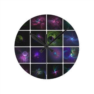Horloge Ronde Fractal collection