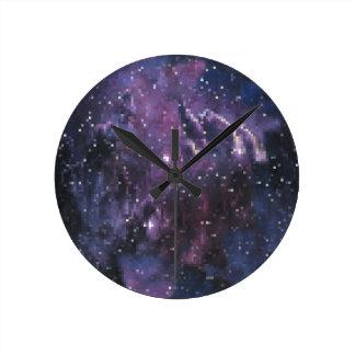 Horloge Ronde galaxy pixels