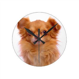 Horloge Ronde gingembre