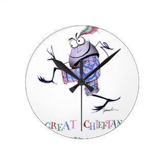 Horloge Ronde grande puddin-course chieftan d'o'the