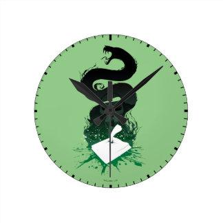 Horloge Ronde Graphique du journal intime de l'énigme de Harry