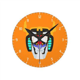 Horloge Ronde Graphique principal coloré par   de Voltron