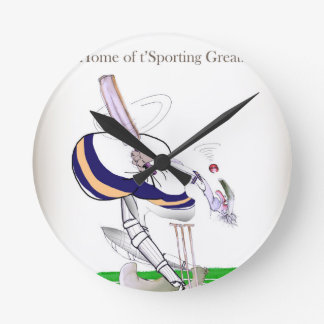 Horloge Ronde Greats sportifs de cricket de Yorkshire d'amour '