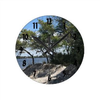 Horloge Ronde Horizon de plage