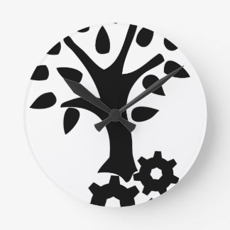 Horloge Ronde Ingénierie verte