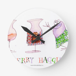 Horloge Ronde joyeux haggis