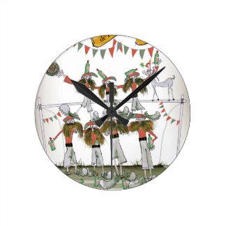 Horloge Ronde la défense vintage du Portugal