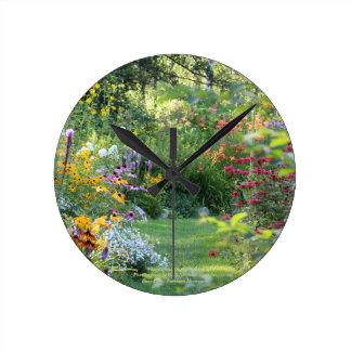 Horloge Ronde Là où trois jardins se réunissent