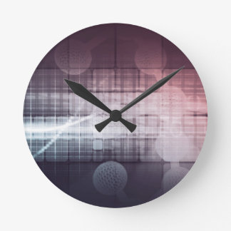 Horloge Ronde La science et technologie disruptive comme résumé