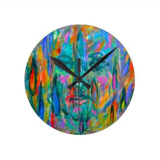 Horloge Ronde Larmes de fantôme