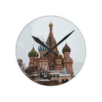 Horloge Ronde Le cathedral_eng de Basil de saint