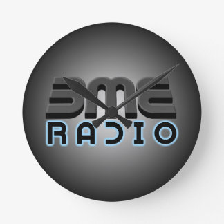 Horloge Ronde Les roches par radio 'DA rond de BME synchronisent