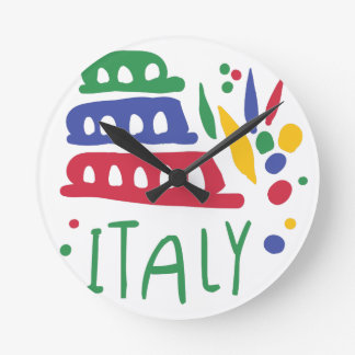 Horloge Ronde L'Italie