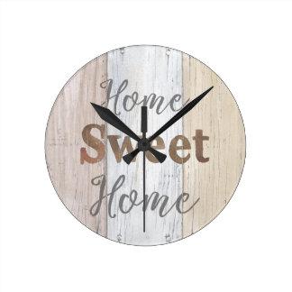 Horloge Ronde Maison douce   à la maison de la ferme VI