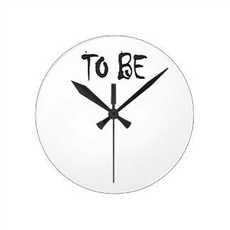 Horloge Ronde maman à be2