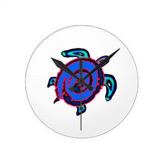 Horloge Ronde Navigation tribale