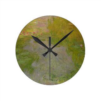 Horloge Ronde Nénuphars de Claude Monet |, c.1919 (huile sur la