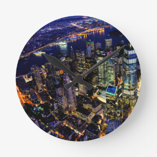 Horloge Ronde New York City, Manhattan, paysage urbain des