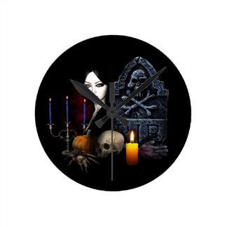 Horloge Ronde Nuit de vampires