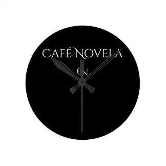 Horloge Ronde Nuit (moyenne) ronde d'horloge murale de Café